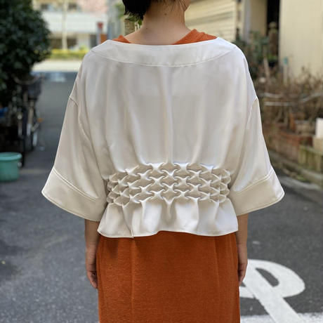 【 Create Clair 】Smocking blouse