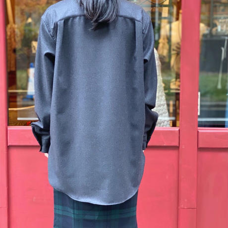 【 daichïogata 】ウールクロスタイシャツ (シャツ)