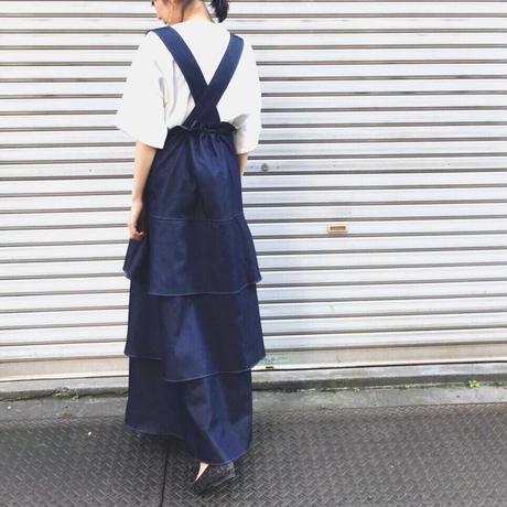【 Create Clair 】Raffle jumper skirt