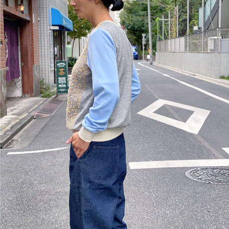 【 POTTENBURN TOHKI I 】MESH SKY FRONT TOP