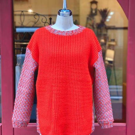 【 Create Clair -POP UP- 】Dobby weavecardigan knit