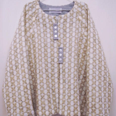 【 POTTENBURN TOHKII 】CIRCLE CARDIGAN