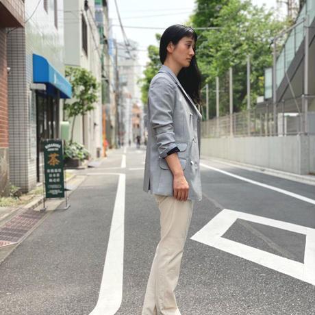 【 daichïogata 】Wモッズジャケット (ライトグレー)