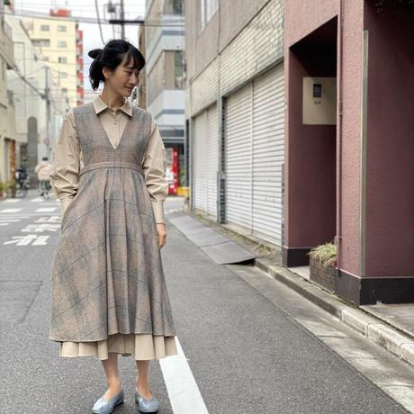 【 Ruimeme 】cotton flannel V neck dress