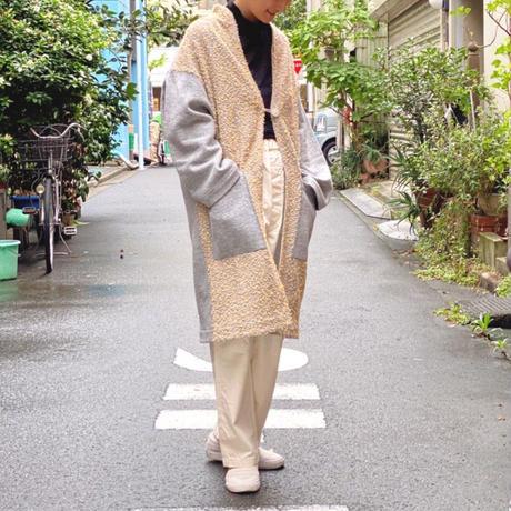 【 POTTENBURN TOHKI I 】MESH SKY LONG CARDIGAN