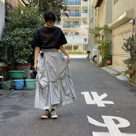 【 HOUGA 】striped skirt & dress