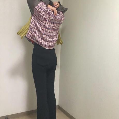 【 Yuumi ARIA 】TWEED TOPS (トップス)