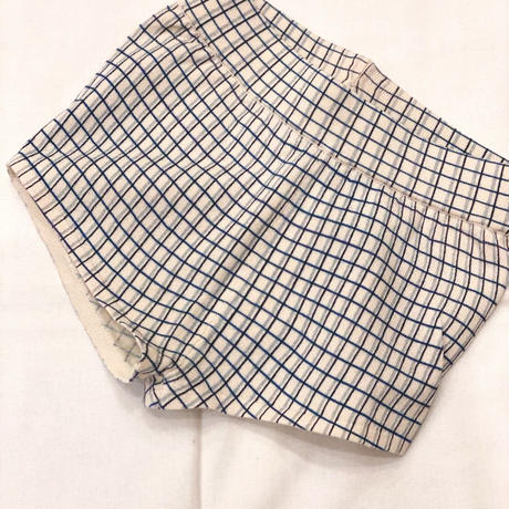 【 FUB 】checked short pants -80 size-