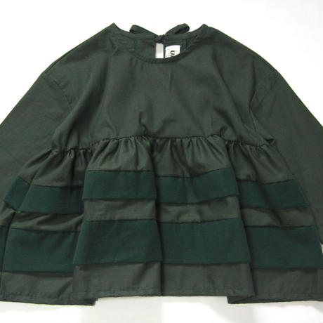 【 UNIONINI 】layer blouse