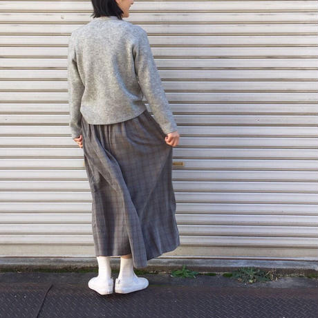 【 OMNIGOD 】Wrap skirt
