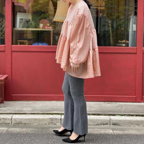 【 Yuumi ARIA 】WOOL RIB KNIT PANT (パンツ)