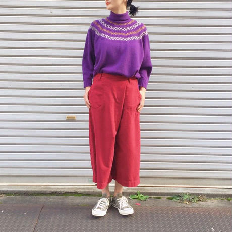 【 OMNIGOD 】Culote skirt