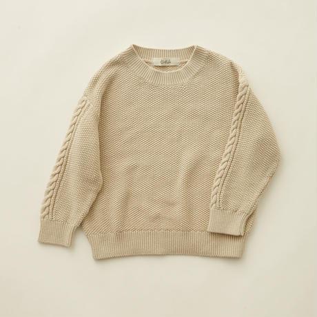【 eLfinFolk 】moss stitch sweater