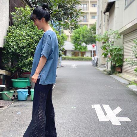 【 OMNIGOD 】Sailor wide shirt