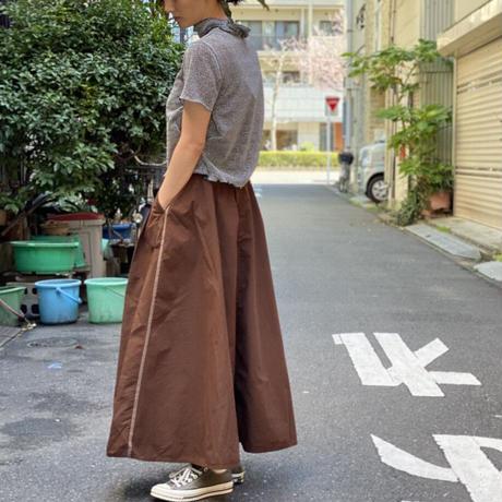 【 OMNIGOD 】トリプルステッチフレアスカート
