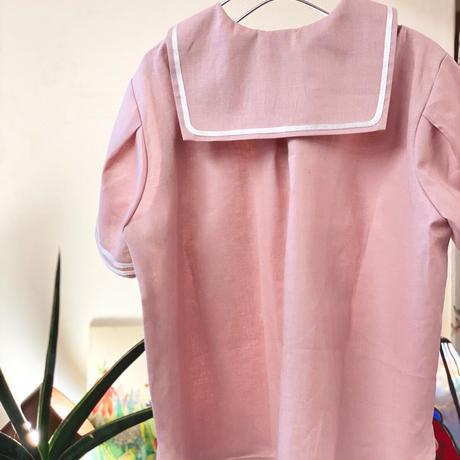 【 AU CLAIR DE LA LUNE 】sailor shirt -110 size-