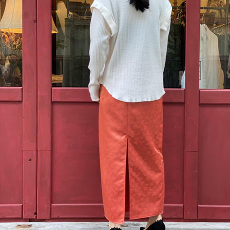 【 Create Clair 】Crimp two-way pullover (トップス)