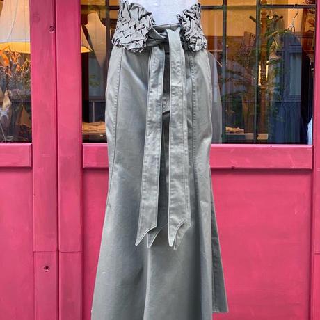 【 Create Clair 】Smocking belt mermaid skirt (スカート)
