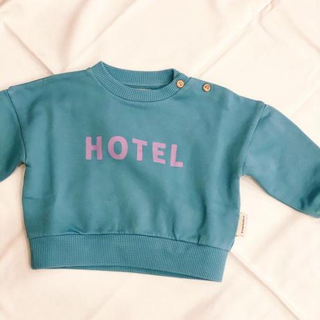 【 piupiuchick 】sweatshirt -HOTEL- / 1Y