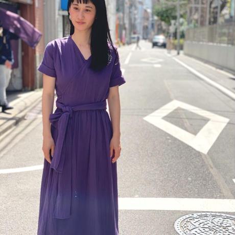 【 AU CLAIR DE LA LUNE 】wrap dress