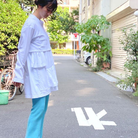 【 Yuumi ARIA 】LAYER GATHER T-SHIRT