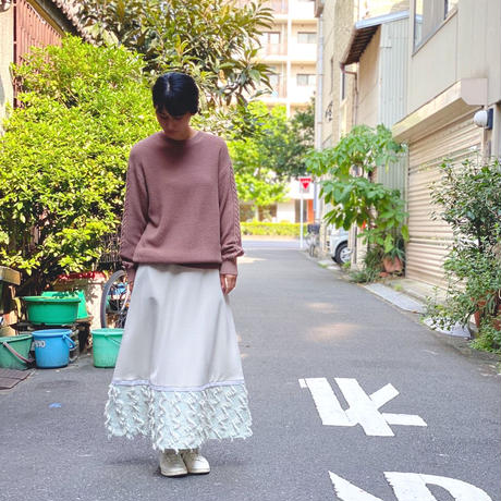 【 eLfinFolk 】moss stitch sweater  -women-