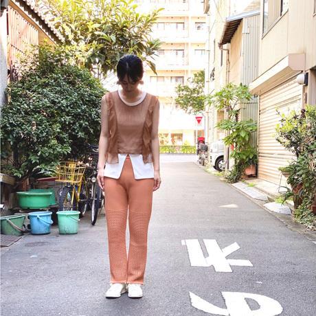 【 UNIONINI 】tulle top