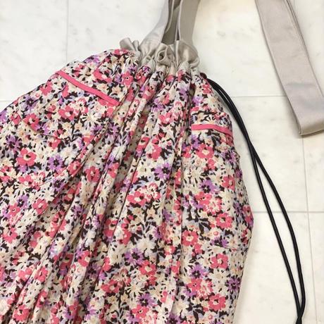 【 umu 】tail fin tote -Pink- (トートバッグ)