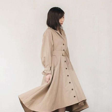【 Ruimeme 】Dress trench coat -Biege-