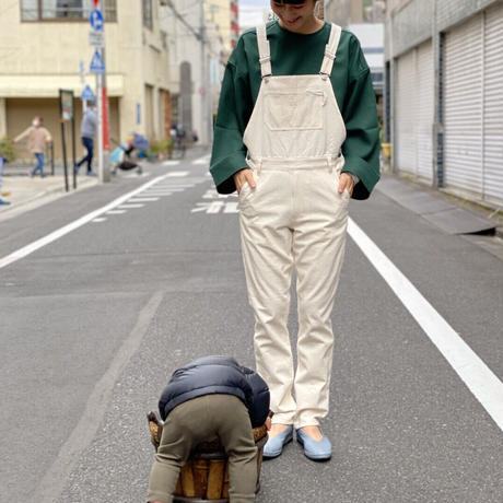 【 MARU TO 】Overall Straight