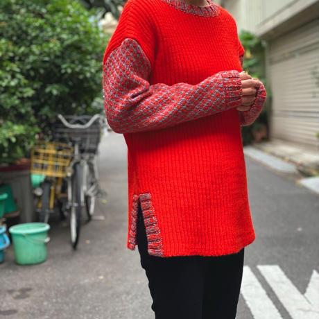 【 Create Clair 】dobby weavecardigan knit