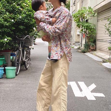 【 melenani 】CHIRTS[チャツ] -for MOM & DAD- (WILD FLOWER)