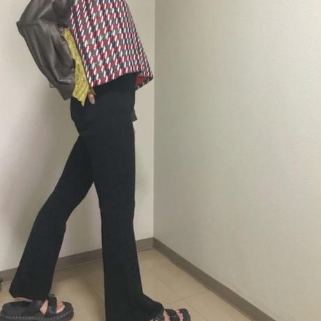 【 Yuumi ARIA 】WOOL RIB KNIT PANT