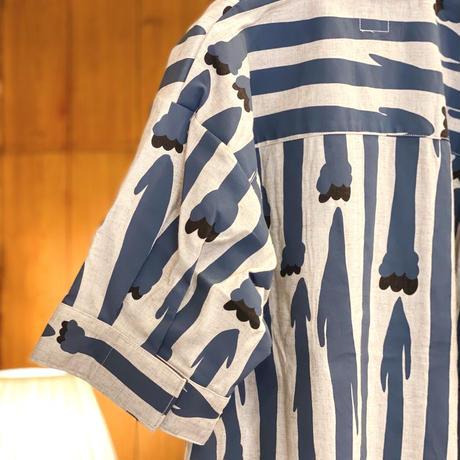 【 MARU TO 】Open Collar Shirt