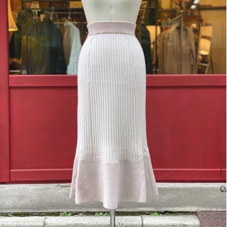 【 Create Clair 】Plating rib mermaid skirt (スカート)