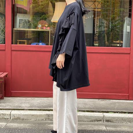 【 Yuumi ARIA 】BIG FRILL T-SHIRT (Tシャツ)