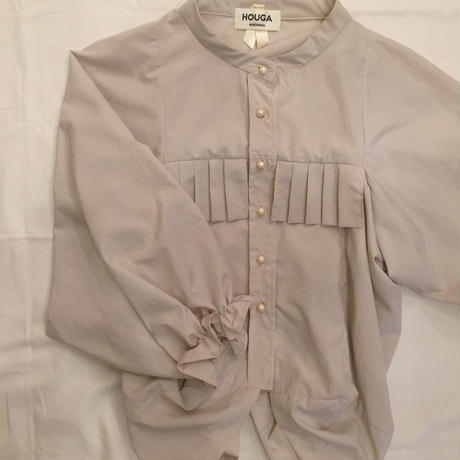【 HOUGA 】taffeta bouquet blouse
