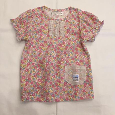 【 whip cream 】花柄チュールTシャツ