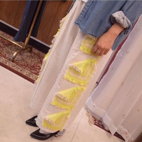 【 POTTENBURN TOHKII 】GARDEN HANDCAHIF PANTS