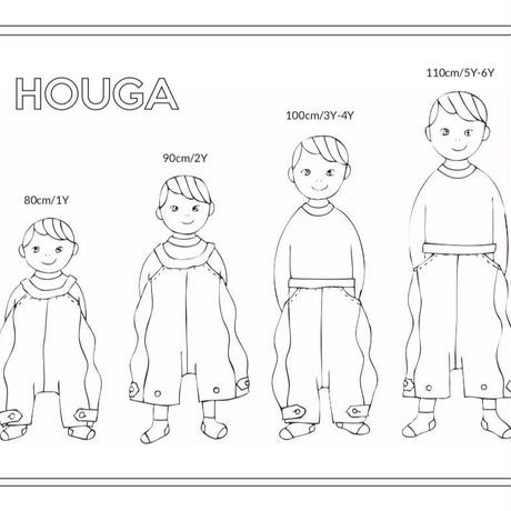 【 HOUGA 】windy salopepants