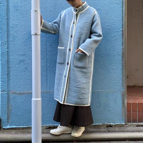 【 Create Clair 】Re-Born stand collar coat
