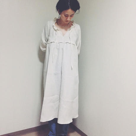 【 Ruimeme 】stripe linen dress