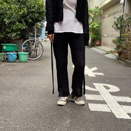【 Yuumi ARIA 】HOLE KNIT PANTS