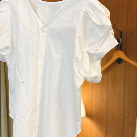 【 Yuumi ARIA 】COTTON PUFF SLEEVE SHIRT