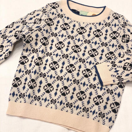 【 FUB 】Jaquered blouse