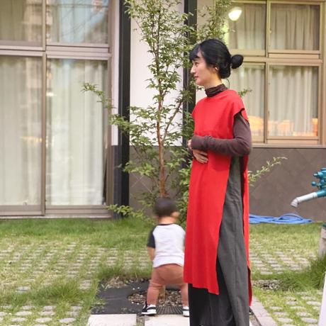 【 UNIONINI 】side open dress