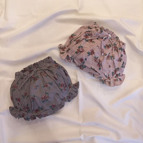 【 tocoto 】Flower print bloomer