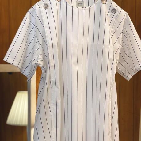 【 MARU TO 】Apron Shirt Tunic