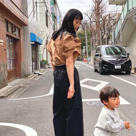 【 Yuumi ARIA 】COTTON PUFF SLEEVE SHIRT
