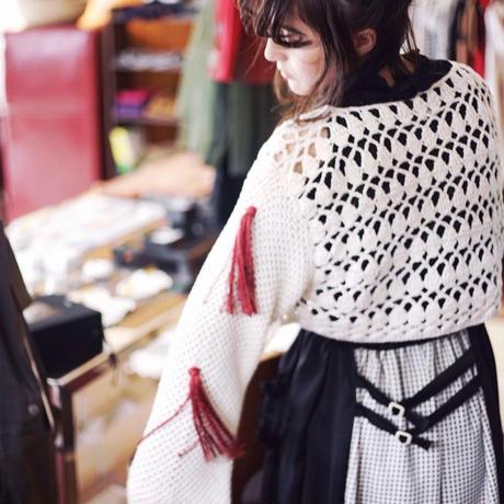 【 Yuumi ARIA 】CROCHET SILK KNIT